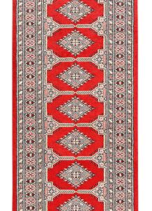 Red Bokhara 2' 7 x 13' 1 - No. 60045