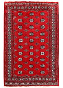 Firebrick Bokhara 6' x 9' 1 - No. 60048
