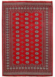 Firebrick Bokhara 6' 2 x 9' 1 - No. 60049