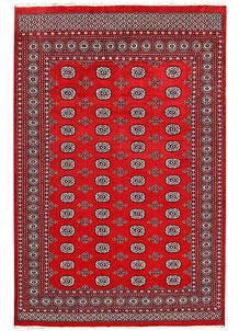 Red Bokhara 6' 1 x 9' 3 - No. 60052