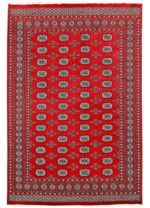 Red Bokhara 6' 1 x 9' 1 - No. 60053