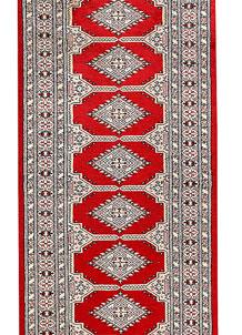 Red Jaldar 2' 8 x 12' 8 - No. 60073