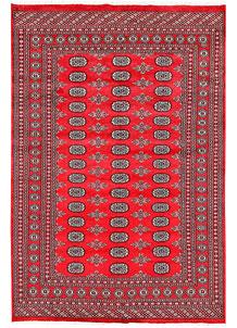 Red Bokhara 5' 11 x 8' 10 - No. 60104