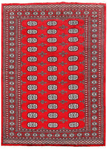 Red Bokhara 5' 11 x 8' 2 - No. 60106