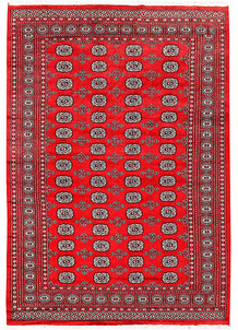Red Bokhara 6' 2 x 8' 10 - No. 60107
