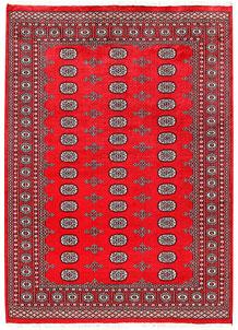 Red Bokhara 6' x 8' 4 - No. 60108