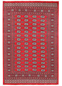 Red Bokhara 6' x 9' - No. 60109
