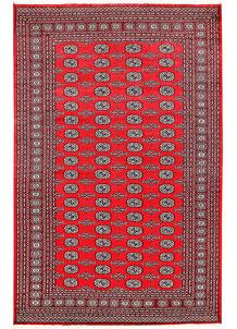 Red Bokhara 6' x 9' 3 - No. 60111