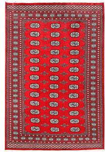 Red Bokhara 5' 11 x 8' 10 - No. 60112