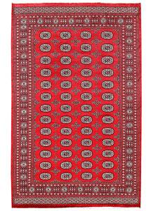 Red Bokhara 6' 1 x 9' 7 - No. 60113