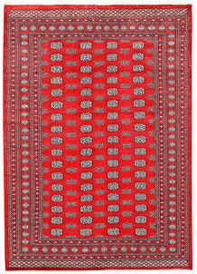 Red Bokhara 6' 7 x 9' 1 - No. 60115