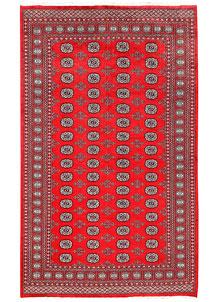 Red Bokhara 6' x 9' 10 - No. 60116