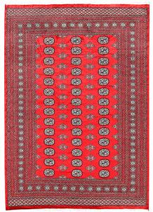 Red Bokhara 6' 3 x 8' 10 - No. 60117