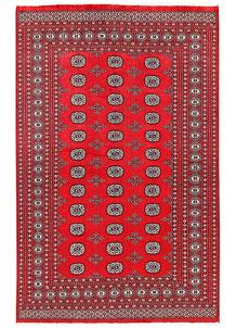 Red Bokhara 6' 1 x 8' 10 - No. 60121