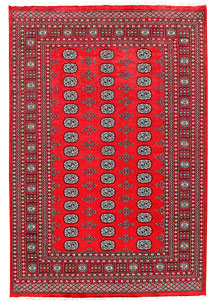 Red Bokhara 6' 1 x 8' 11 - No. 60123