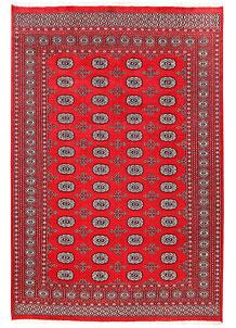 Red Bokhara 6' x 9' - No. 60124