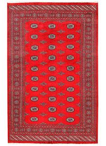 Red Bokhara 6' 2 x 9' 8 - No. 60126