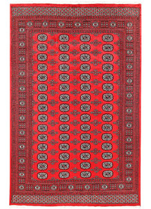 Red Bokhara 5' 11 x 9' 1 - No. 60128