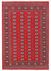 Red Bokhara 5' 11 x 8' 8 - No. 60130