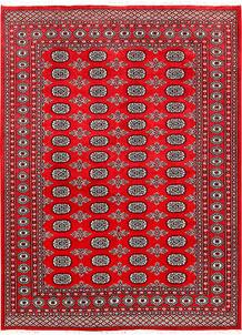Red Bokhara 6' 2 x 8' 5 - No. 60140