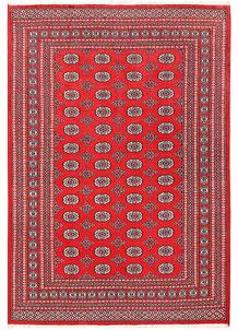 Red Bokhara 6' 2 x 9' - No. 60145