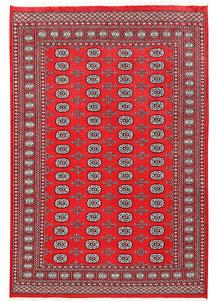 Red Bokhara 6' x 9' - No. 60146