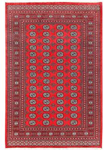 Red Bokhara 6' 3 x 9' 3 - No. 60153