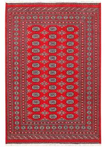 Red Bokhara 5' 11 x 8' 9 - No. 60157
