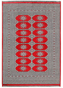 Red Jaldar 6' 3 x 9' 1 - No. 60172