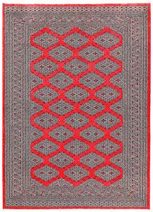 Red Jaldar 6' 3 x 8' 10 - No. 60173