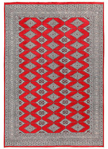 Red Jaldar 6' x 8' 8 - No. 60174