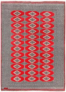 Red Jaldar 6' 3 x 8' 6 - No. 60175