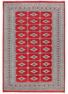 Red Jaldar 6' 1 x 9' 3 - No. 60176