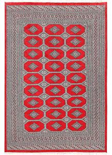 Red Jaldar 6' x 8' 11 - No. 60179