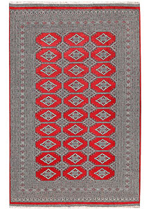 Red Jaldar 6' 1 x 9' 4 - No. 60180