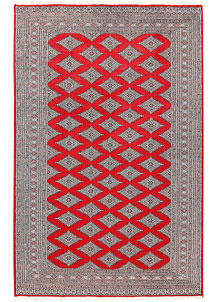 Red Jaldar 5' 11 x 9' 3 - No. 60184