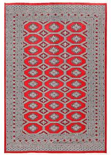 Red Jaldar 6' 1 x 9' - No. 60185