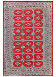 Red Jaldar 6' x 9' 3 - No. 60188