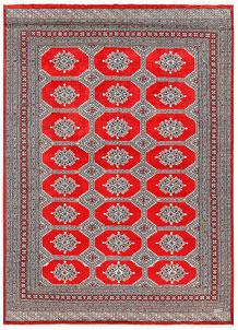 Red Jaldar 6' 6 x 9' - No. 60190