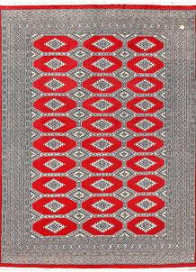 Red Jaldar 6' 3 x 8' 2 - No. 60192