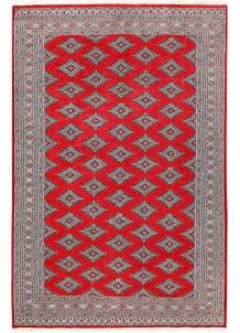 Red Jaldar 5' 10 x 8' 11 - No. 60193