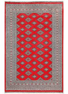 Red Jaldar 6' x 9' 5 - No. 60195