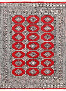 Red Jaldar 6' 8 x 8' 9 - No. 60196