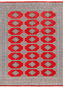 Red Jaldar 6' 10 x 8' 9 - No. 60197