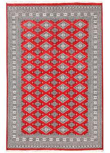 Red Jaldar 6' 1 x 9' 3 - No. 60198