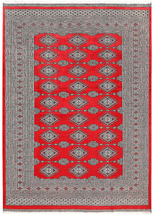 Red Jaldar 6' 1 x 8' 7 - No. 60199