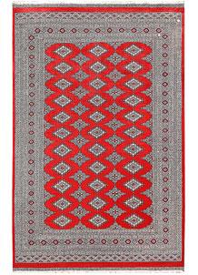 Red Jaldar 6' x 9' 7 - No. 60201