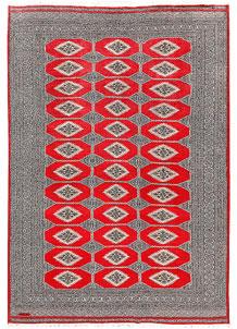 Red Jaldar 6' 1 x 8' 9 - No. 60202
