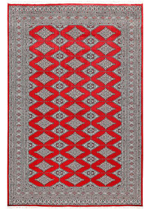Red Jaldar 6' 1 x 9' 2 - No. 60203