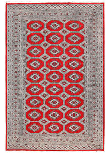 Red Jaldar 6' 2 x 9' 5 - No. 60204